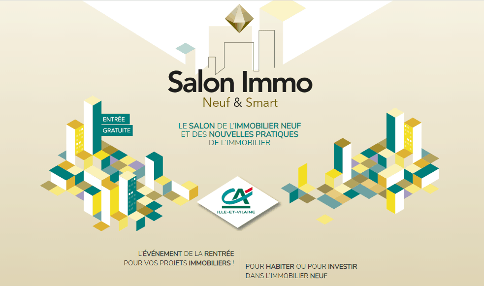 Salon immobilier octobre 2019, salon rennes, salon rennes 2019, salon immobilier rennes 2019